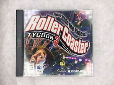RollerCoaster Tycoon 3 Mac Atari Pre-Owned GUC EUC Theme Park Video Game Apple