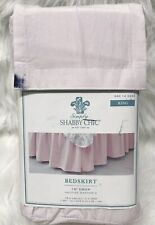 """Simply Shabby Chic Light Pink 15"""" Drop Bedskirt King"""