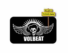 VOLBEAT Danish Heavy Metal Band Decal Sticker w/ Skull Choose Color & Size p301