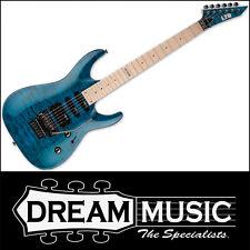 ESP LTD LMH-103QMSTB Electric Guitar MH-103 Quilt Maple See Thru Blue RRP$849