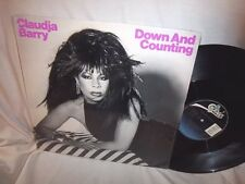 """CLAUDJA BARRY-DOWN & COUNTING (EXTENDED MIX/EMULATOR DUB-EPIC 49 05926 NM/NM 12"""""""