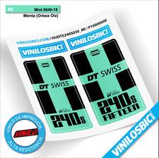 DT Swiss 240s pegatinas vinilo adhesivo bujes