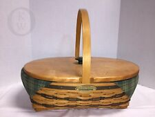 *Longaberger*1998*Traditi oal Collection Hospitality Basket Ltd Ed. 16305H