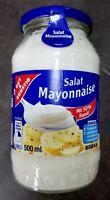 (5,30€/1L) Salat Mayonnaise mit 50% Rapsöl 500 ml von Edeka