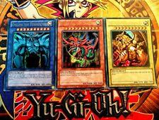 Obelisk, Slifer & Ra lc01-en001/02/03 Ltd Edition (MINT-NM) Ultra Rare Yu-Gi-Oh!