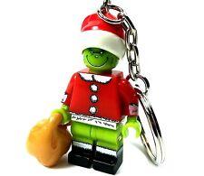 The Grinch Mini Figure Keyring Christmas Keyring Gift The Grinch Keychain UK