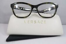 bab574a0ea9 Versace Women s Green Tortoise Glasses with case MOD 3225 5183 54mm