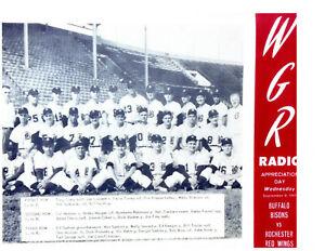 1961 BUFFALO BISONS 8X10 TEAM PHOTO BASEBALL NEW YORK MINCHER SHANNON FREY