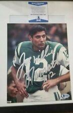 Joe Willie Namath (NFL) Autographed 8x10 Photo-Beckett COA