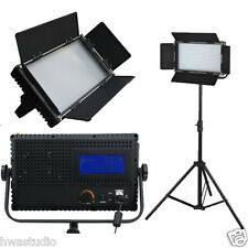 576ALD Daylight LED Studio Panel light LCD Touch Screen film dimmable 1 kit