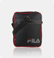 Fila MESSENGER BAG Schultertasche Umhängetasche schwarz A4 NEU black Schultasche