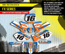 2006 2007 2008 2009 2010 2011 2012 SX 85 105 GRAPHICS KIT KTM SX85 SX105 MX