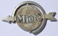 1930s Germany German Antique MIELE Bicycle Front View Tag Sign