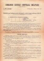 REGIO ESERCITO - COMANDO SCUOLE CENTRALI MILITARI - CIVITAVECCHIA 1932