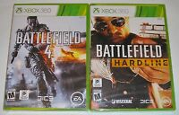Xbox 360 Game Lot - Battlefield 4 (New) Battlefield: Hardline (New)