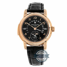 Patek Philippe Complication Repeater Calendar Manual Gold Mens Watch Date 5016R