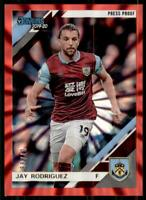 2019-20 Chronicles Soccer Donruss Press Proof Red Laser 49 Jay Rodriguez /99