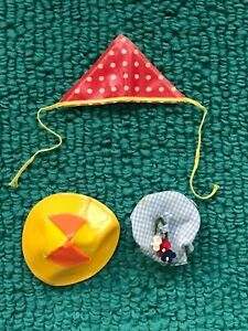 Vintage Barbie MOD FRANCIE HATS Clam Diggers Tuckered Out Polka Dots n Raindrops
