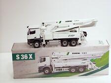 Mercedes Benz Schwing S36X Concrete Pumper - 1/50 - Conrad #78225 - New