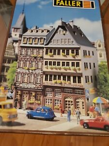Faller Two Old City Buildings B-913 Ho Scale