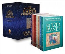 Complete Earth Chronicles, Hardcover by Sitchin, Zecharia, Brand New, Free P&...