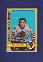 Tony Esposito HOF 1972-73 O-PEE-CHEE OPC Hockey #137 (NM) Chicago Blackhawks