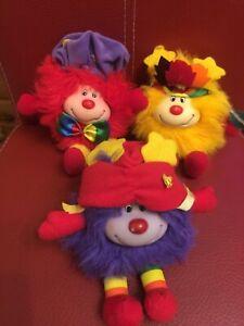 Regina Regenbogen Rainbow Wichtel 3 Kids 15 cm  Grün Lila Rot