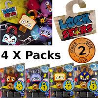 4 X Hasbro Lock Stars Series 2 Job Lot New Sealed Genuine Mystery Prizes Inside