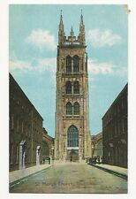 Somerset - Taunton, St. Mary's Church - 1910's Postcard