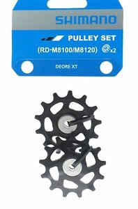 Shimano XT RD-M8100 RD-M8120 Rear Derailleur Tension & Guide Pulley Set