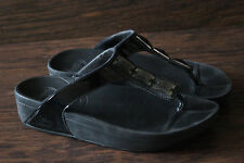 FitFlop Black Jewel Women's Size 8 EU 38 Sandals Black - Free Shipping!
