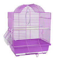 New Small Bird Cage Canary Parakeet Cockatiel Finch Travel Carry Cage 30x23x39cm