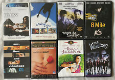 Lot Of 8 Dvd Classic Great Movies Dramas- Blow, 8 Mile, Warriors, Waking Life