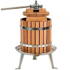Vigo 12 litre stainless steel apple cider fruit press. Very good quality  NEW!