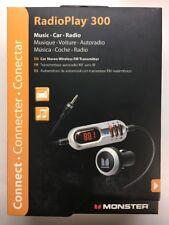 Monster RadioPlay 300 Car Stereo FM Transmitter - Brand New. XMTR300