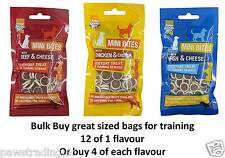 Dog Treats Small Puppy Training Treats 840g Puppies Toy Dogs BULK FLAVOURS