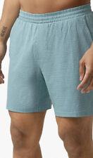 "NWT Men's Lululemon Large Channel Cross Swim Short 7"" Blue IWSV $78"