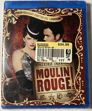 Moulin Rouge (Blu-ray Disc, 2010) Nicole Kidman, Ewan McGregor New & Sealed