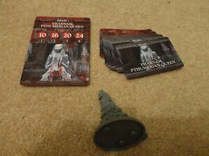 Bloodborne board game (CMON): Boss Yharnam Pthumerian Queen + cards. new