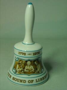 """Hammersley 1776-1976 SOUND OF LIBERTY BELL Independence Nice """"Ringing"""" Tone"""