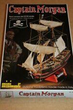 Mini Mamoli (MM5): Captain Morgan (Bateau Corsair XVII Siècle) au 1/135
