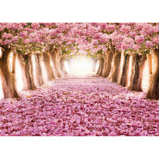 500 Pieces Adult Puzzle Sakura Cherry Flower Trees Jigsaw Educational Toys Gift