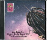 Led Zeppelin Concert Complete Show 1975 at Earl's Court 2 DVD set Dolby Stereo