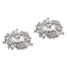 "Jewelled Shoe Clips, Shoe Jewels, Bridal Prom Shoe Accessories (1 Pair) ""Mya"""