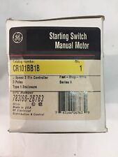 GE CR101BB1B Manual Motor Starting Switch