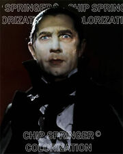 BELA LUGOSI AS COUNT MORA DRACULA HALLOWEEN MONSTER COLOR PHOTO BY CHIP SPRINGER
