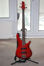 Ibanez SR300 Bass guitar in Candy Apple Red
