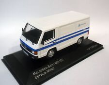 WHITEBOX WB266 - 1/43 MERCEDES MB 100 MERCEDES-BENZ SERVICE VAN 1988