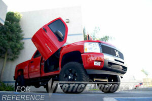 Vertical Doors - Vertical Lambo Door Kit For Chevrolet Silverado 2014-16