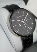 Vince Camuto VC/1098BKTB Men's 43mm Black Multifunction S/Steel Watch    **NWD**